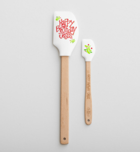 Happy Birthday jesus spatulas