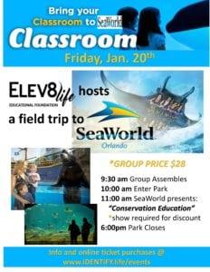 Sea World Educational Field Trip