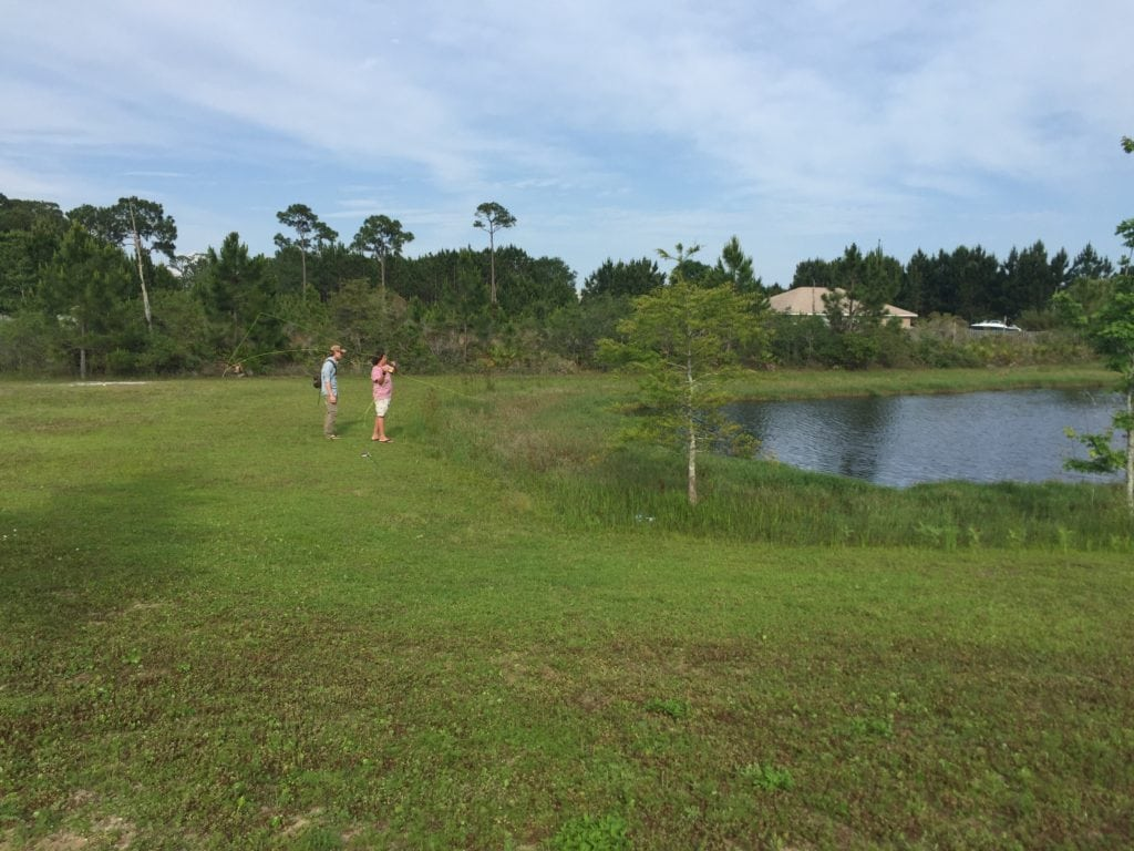 free Orvis fly fishing class in Destin, Florida