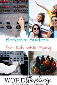 Five Boredom Busters for Kids while Flying