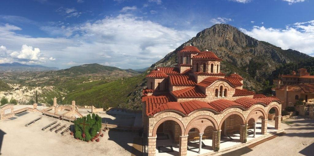 monastery in Corinth Greece