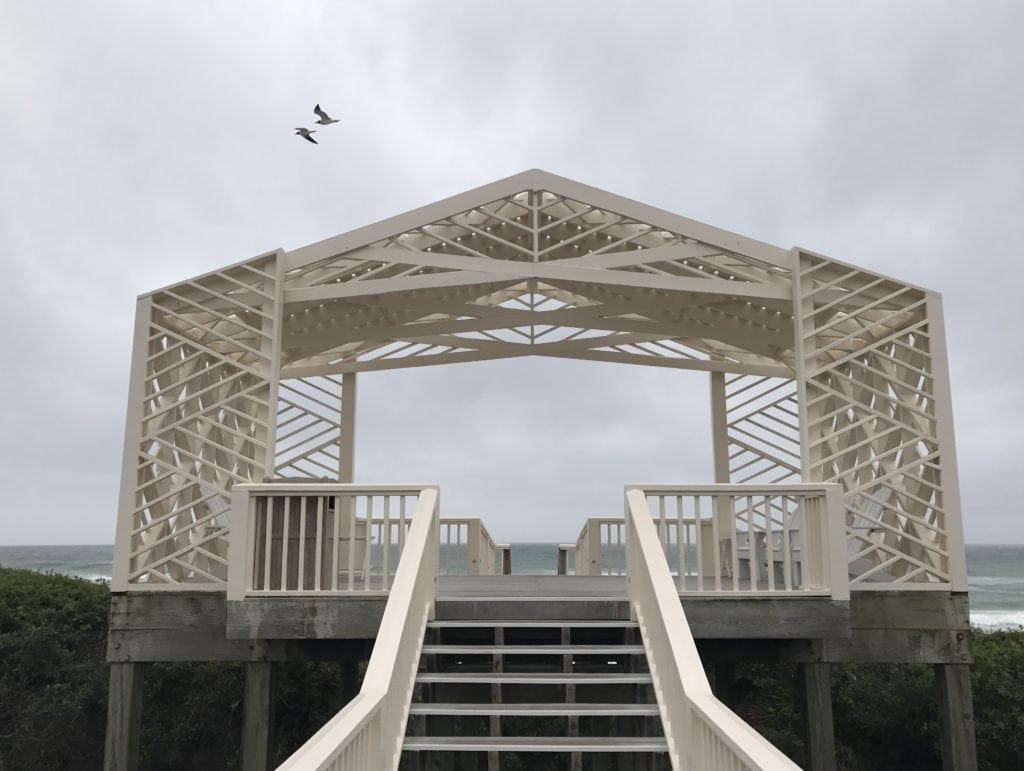 beach pavilion in Seaside, Florida