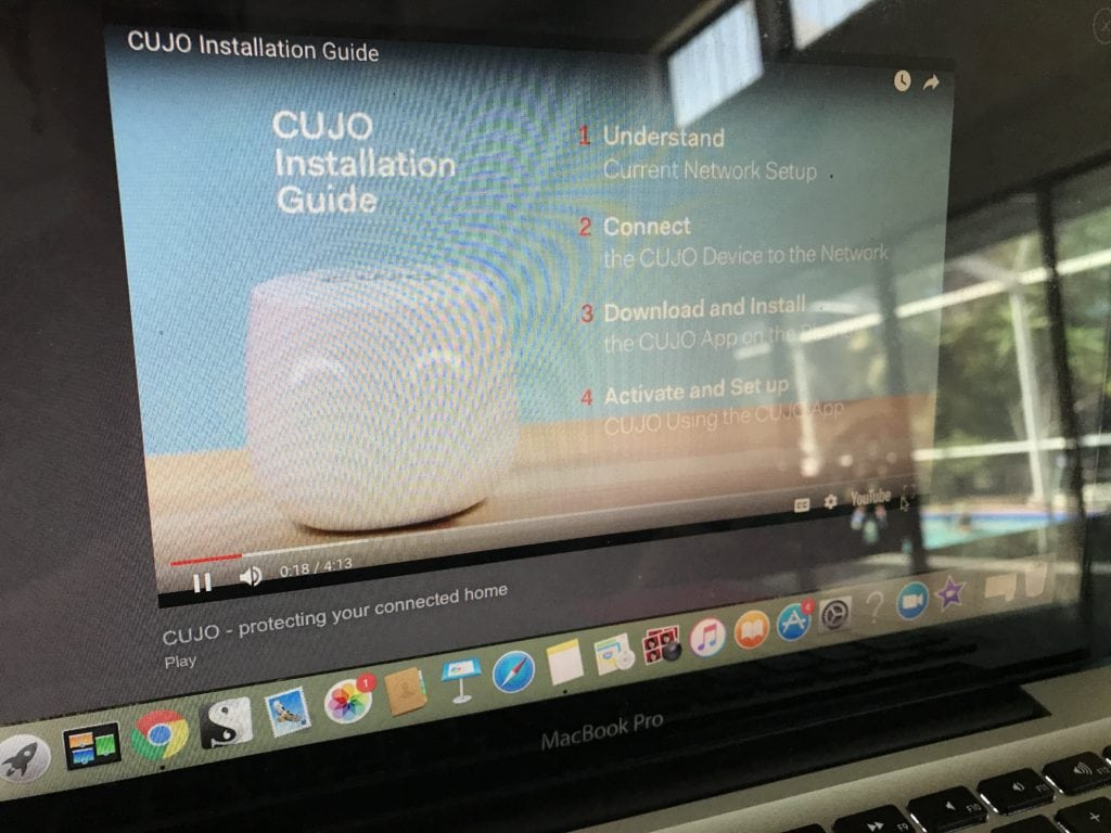 CUJO home internet security
