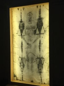 replica of the Shroud of Turin