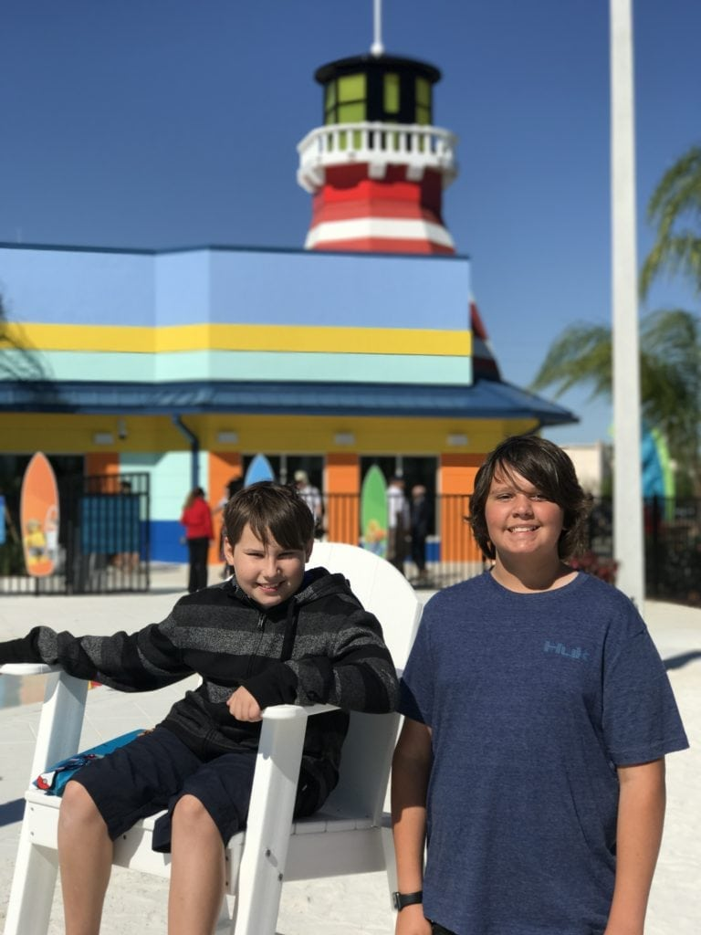 the lighthouse at legoland beach retreat