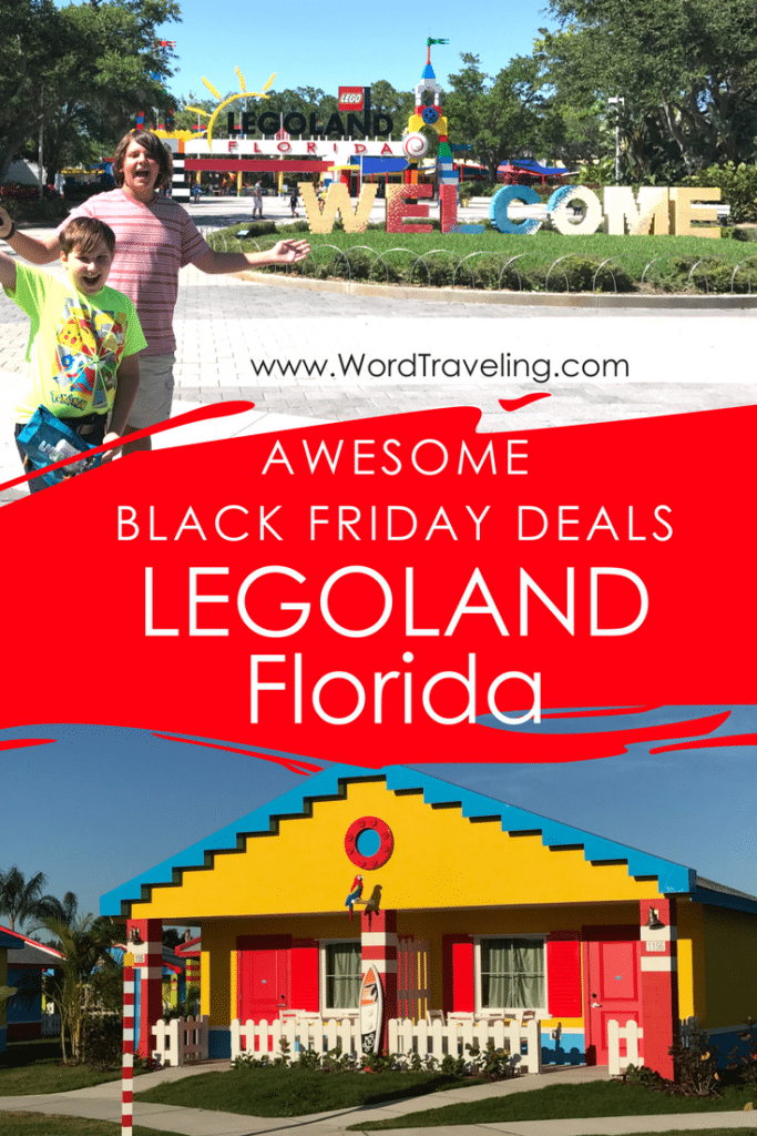 Legoland Florida Black Friday deals