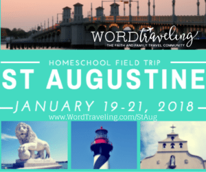 St. Augustine Homeschool Field Trip