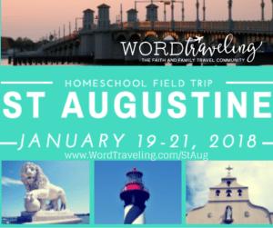 St. Augustine Homeschool Field Trip
