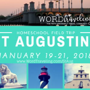 St Augustine homeschool field trip