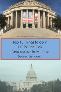 Top 10 Things to do in DC in One Day