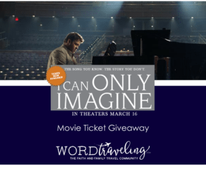 I Can Only Imagine- in Theaters this Friday, March 16 and a Giveaway!