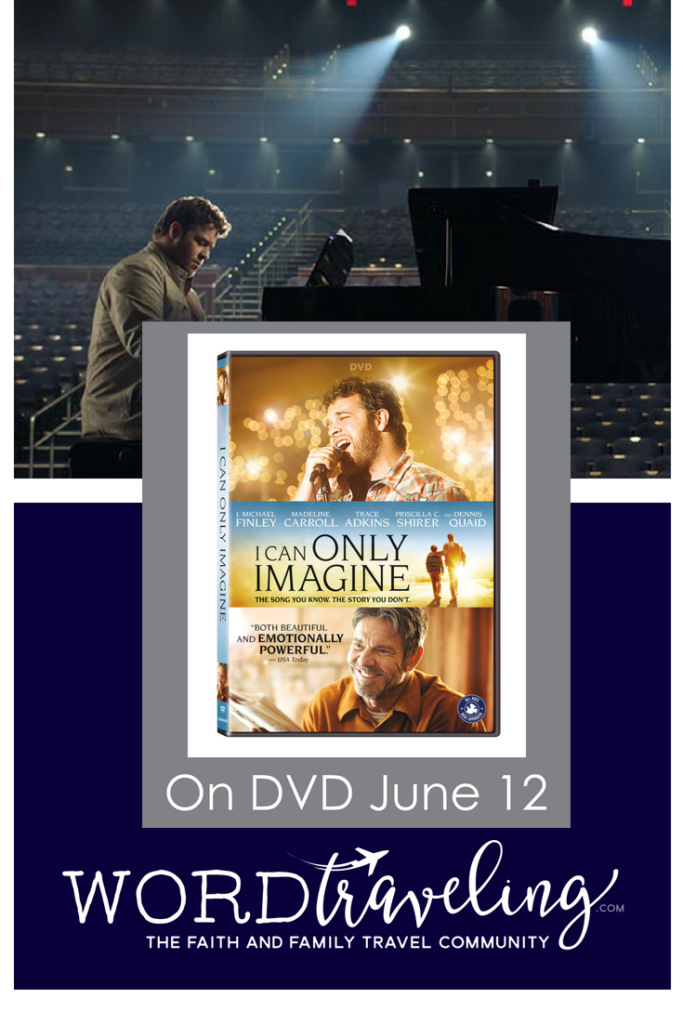 I can only imagine on DVD