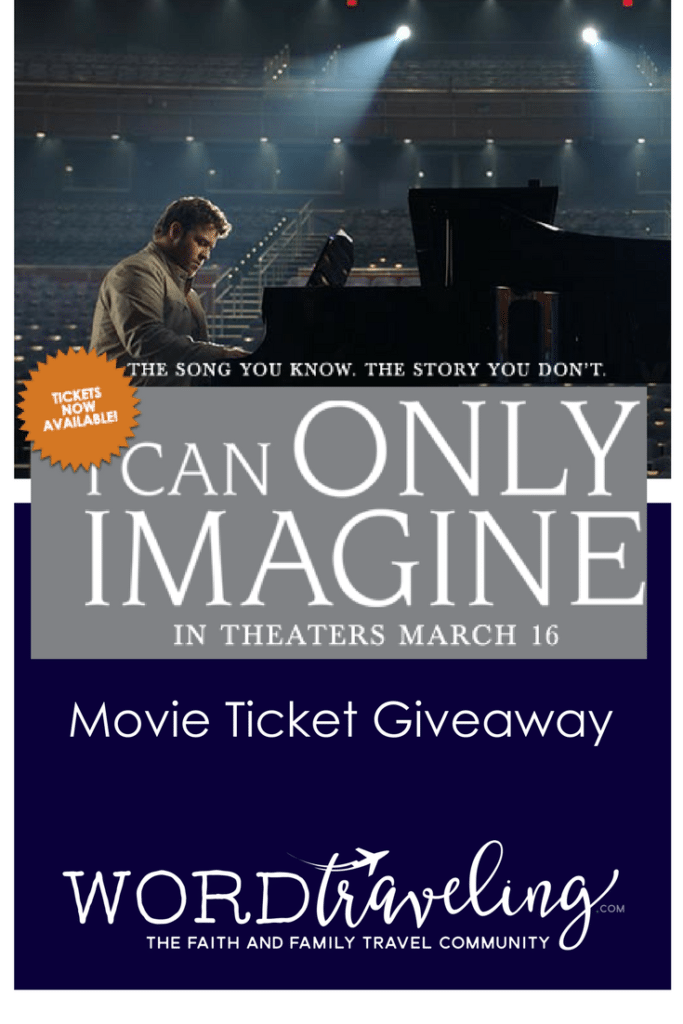 i can only imagine movie ticket giveaway