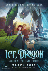 Ice Dragon- Legend of the Blue Daisies- an Inspiring Animated Film and Special Event