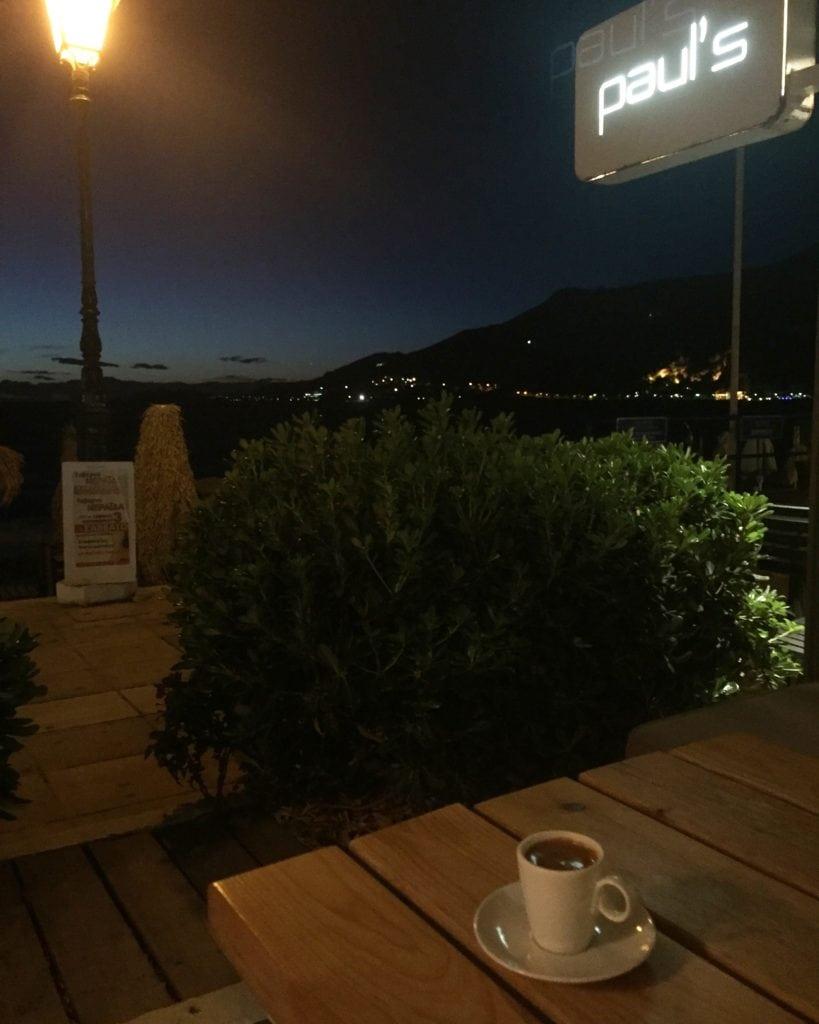 Paul's coffee shop loutraki Greece