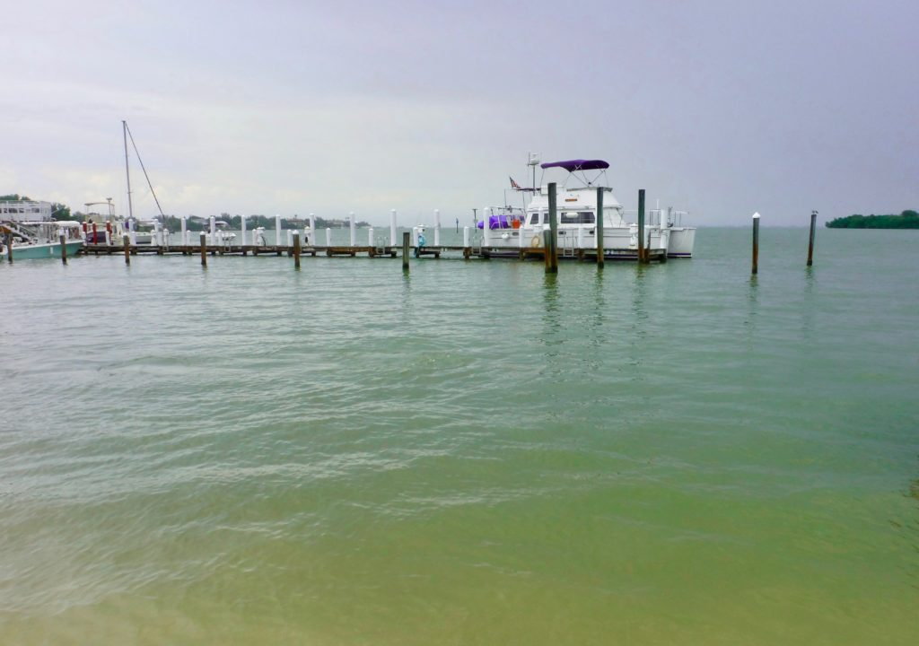 dock at Tween Island Inn, Captiva
