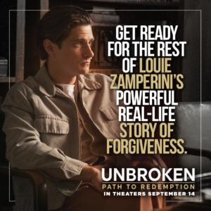 Unbroken: Path to Redemption Review and Ticket Giveaway
