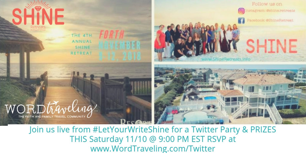 Let Your Write Shine twitter party